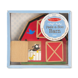 Melissa & Doug: Baby and Toddler Toy Peek a Boo Barn