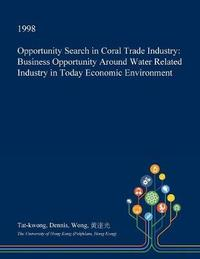 Opportunity Search in Coral Trade Industry by Tat-Kwong Dennis Wong image
