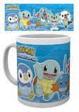 Pokemon Mug (Water Partners)