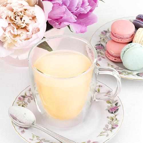 Pinky Up: Avery Double Walled - Glass Tea Mug