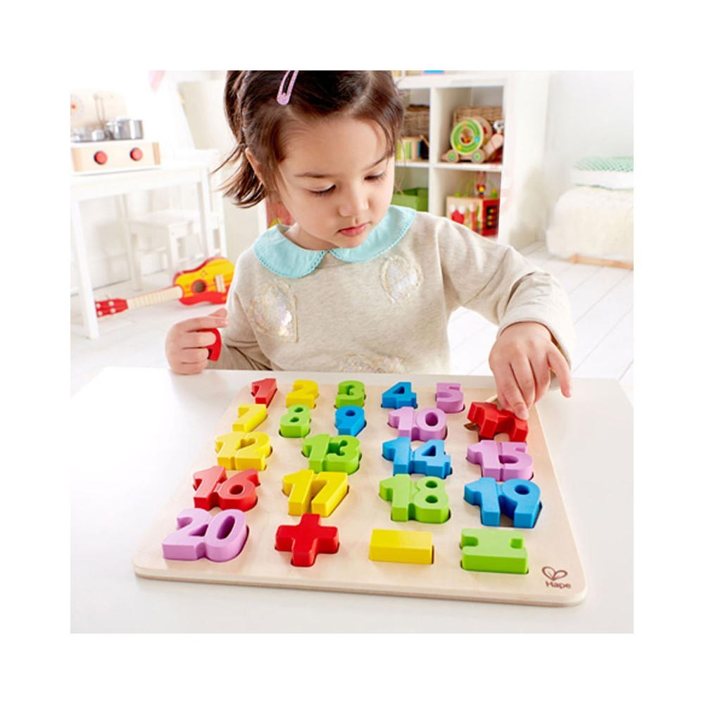 Hape: Numbers Puzzle image