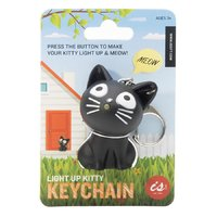 Meowing Kitty Keychain