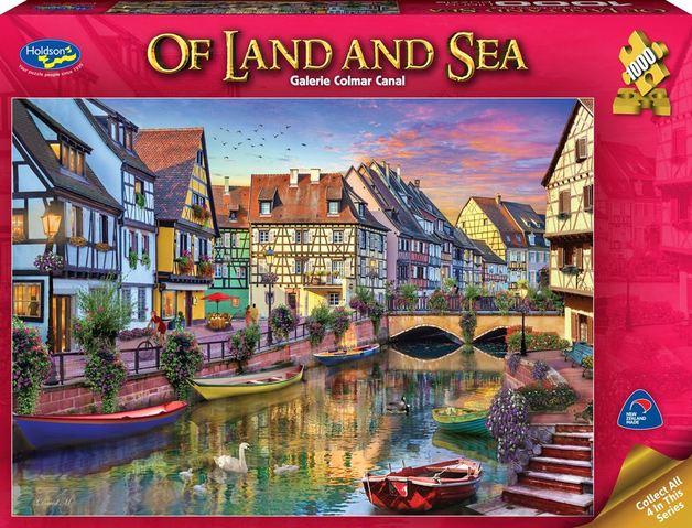 Holdson: 1000 Piece Puzzle - Of Land & Sea (Galerie Paris)