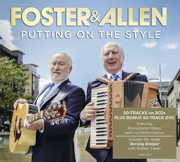 Putting on the Style (CD/DVD) by Foster and Allen
