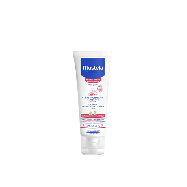 Mustela: Soothing Moisturising Face Cream - 40ml