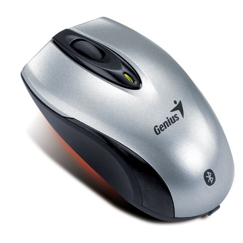 Genius Navigator 900 Bluetooth Mini Optical Mouse Sil/Blk image