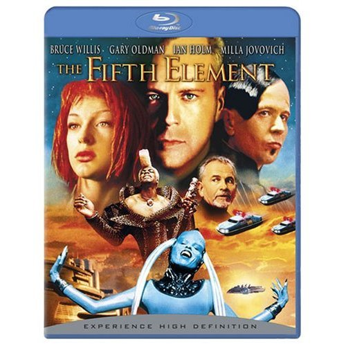 The Fifth Element on Blu-ray