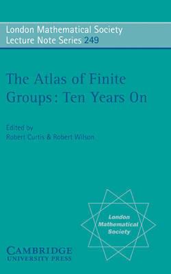 The Atlas of Finite Groups - Ten Years On