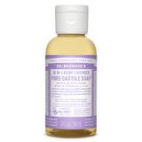 Dr Bronner's Castile Liquid Soap - Lavendar (59ml)