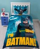 Lego Batman Hero Reversible Duvet Set - Single