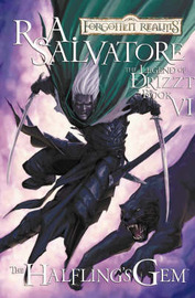Forgotten Realms: The Halfling's Gem (Legend of Drizzt #6) (Graphic Novel) by Andrew Dabb image