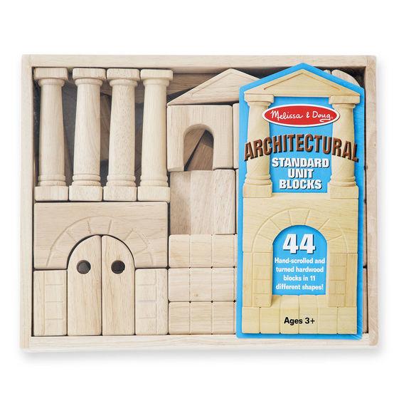 Melissa & Doug: Architectural Unit Blocks image