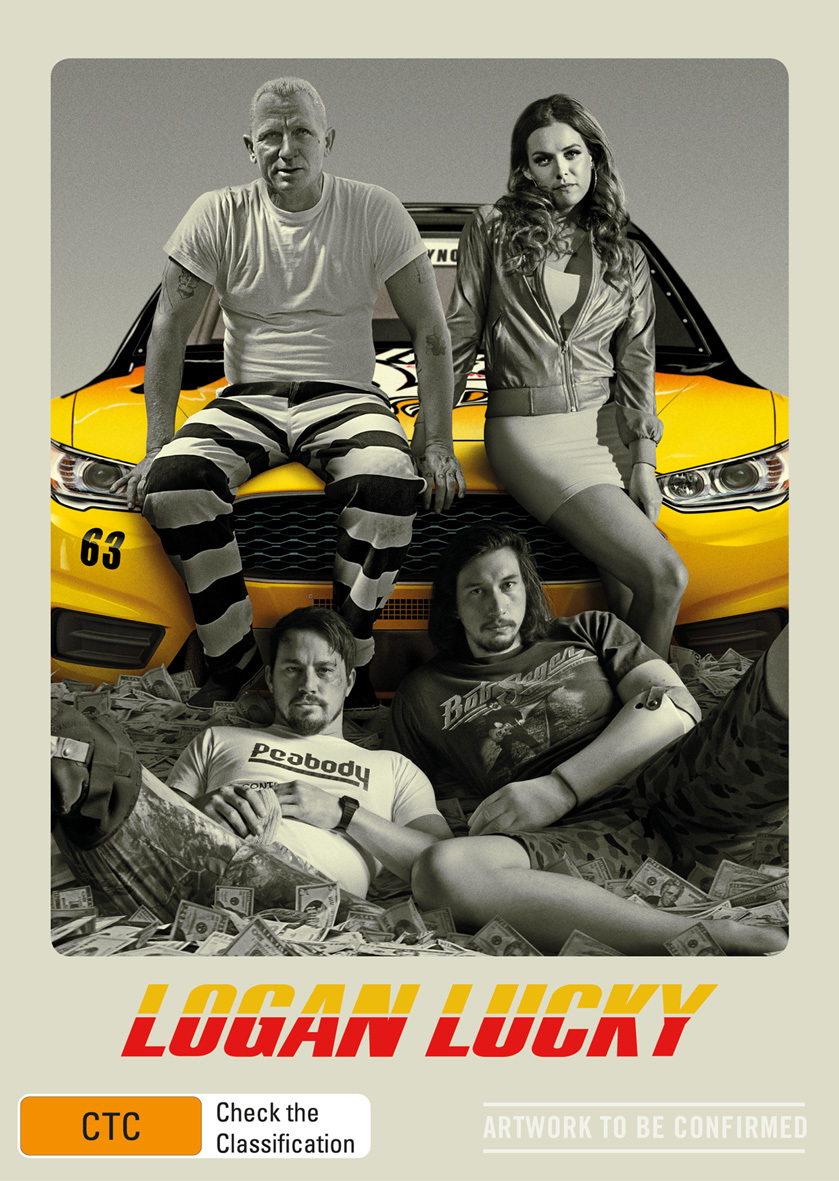 Logan Lucky on DVD image