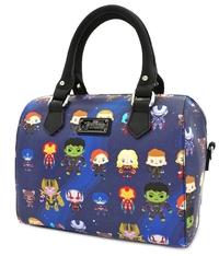 Loungefly Avengers Endgame - Chibi Print Mini Duffle Bag