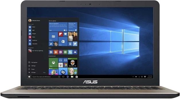 """ASUS X540UA-GQ1956T 15.6"""" i3-7020U 4GB 256GB SSD W10Home"""