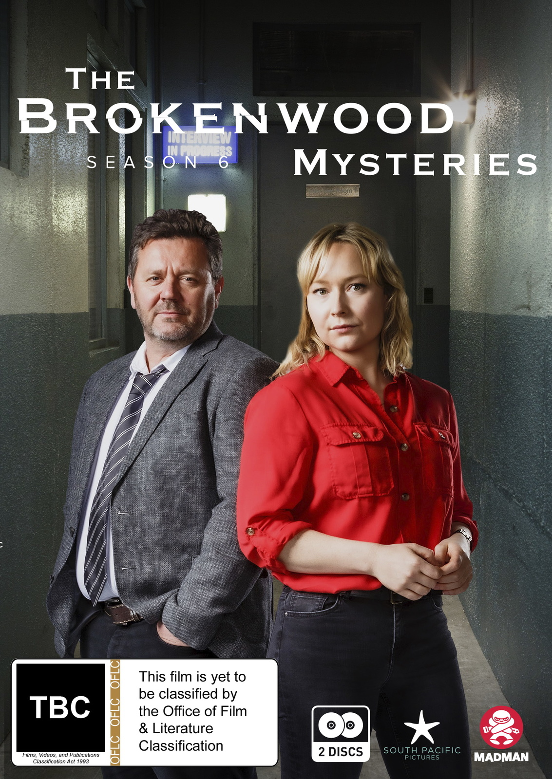 The Brokenwood Mysteries - Series 6 on DVD image