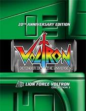 Voltron: Defender Of The Universe - Collection 3 (3 Disc Box Set) on DVD