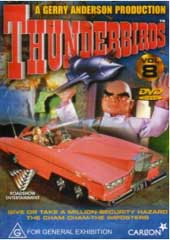 Thunderbirds Vol 8 on DVD