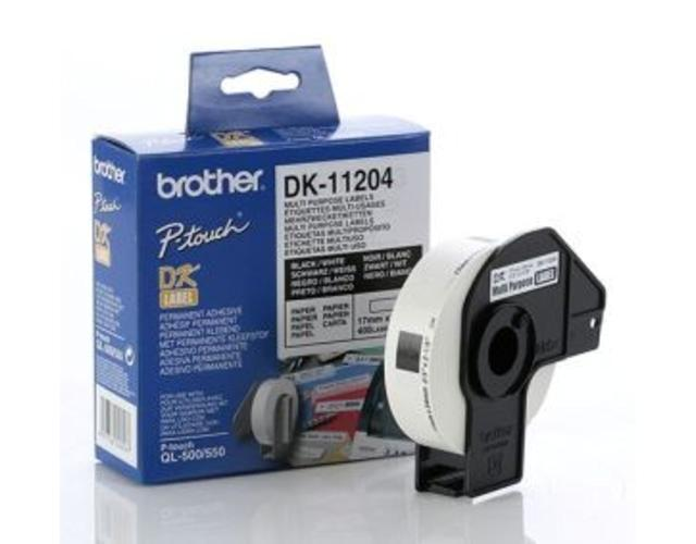 Brother Multi Purpose Label DK11204 image