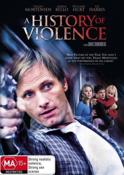 A History Of Violence on DVD image