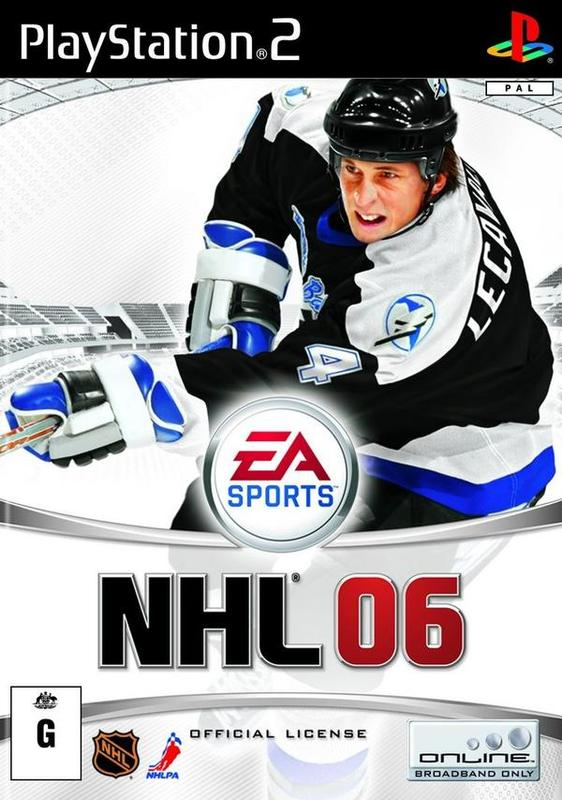 NHL 06 for PlayStation 2
