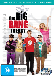 The Big Bang Theory - Complete 2nd Season (4 Disc Set) on DVD image