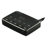 Promate 10-Port 12000mA Heavy Duty Charge & Sync USB Power Station