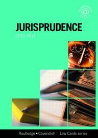 Jurisprudence Lawcards: 2010-2011 by Routledge Chapman Hall image