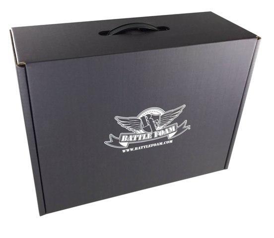 Battle Foam Eco Box Half Tray Load Out (Stone Black)