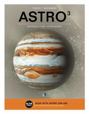 Astro 3 (with Astro 3 Online Printed Access Card) by Michael A Seeds image