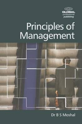 Principles of Management by B.S. Moshal image