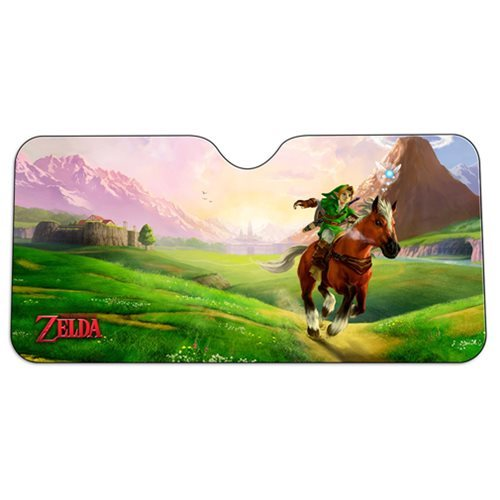 The Legend of Zelda: Link & Epona Car Sunshade image