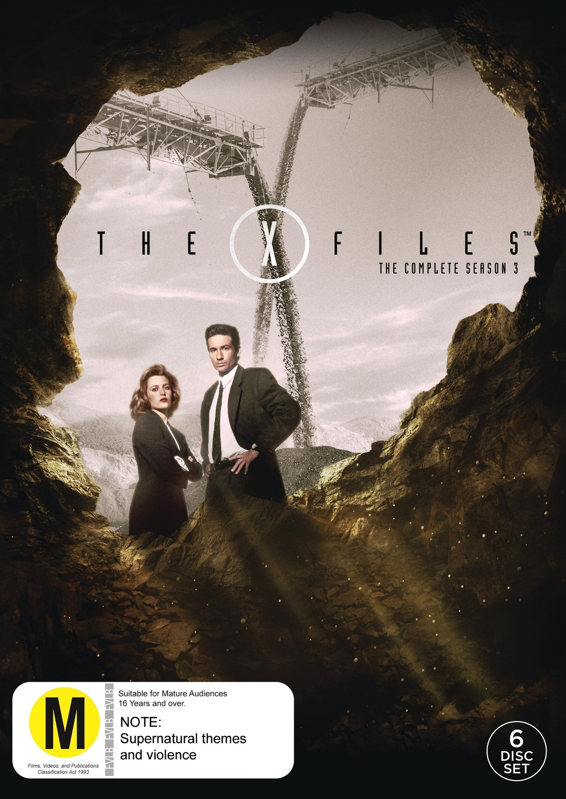The X-Files - Season 3 (6 Disc Set) on DVD image