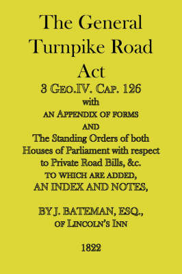 The General Turnpike Road Act image