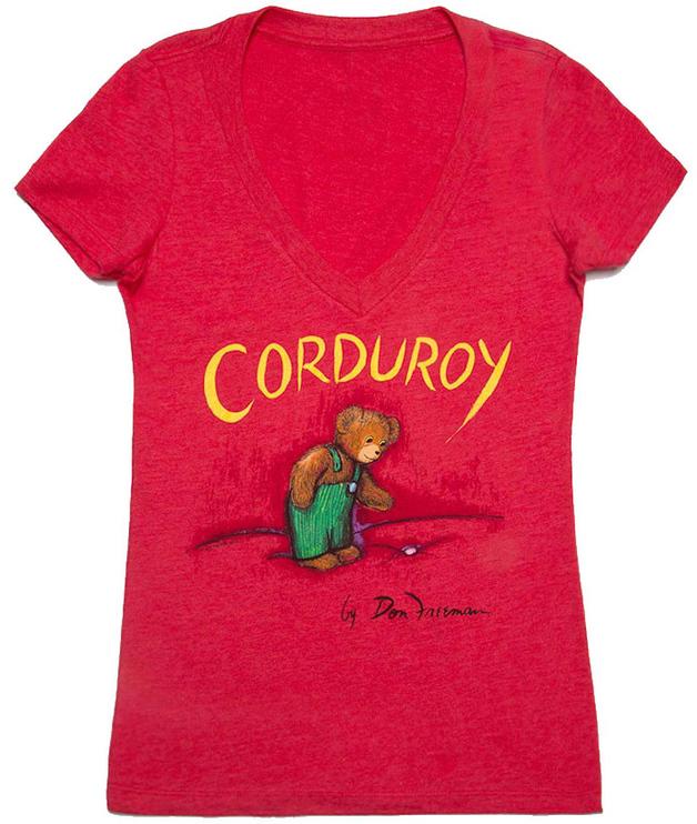 Corduroy - Women's Medium (V-Neck)