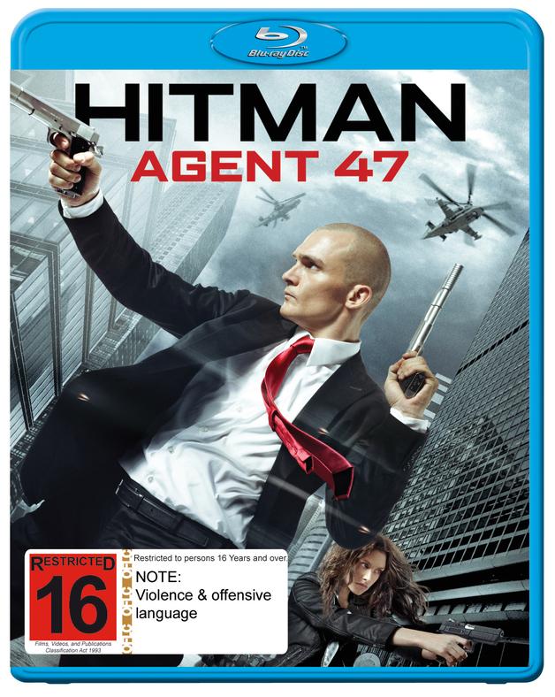Hitman: Agent 47 on Blu-ray