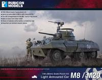 Rubicon 1/56 M8 / M20 Armoured Car