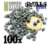 Green Stuff World: Resin Skulls Skulls Set