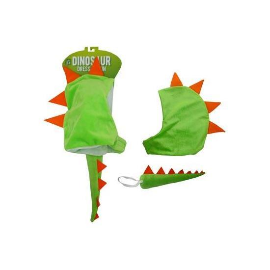 Dinosaur Hood + Tail Dress-Up image