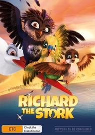 Richard the Stork on DVD image