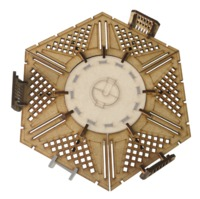TTCombat: Tabletop Scenics - Sector 3 Chem-Vat Platform image