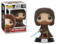 Star Wars: Obi Wan Kenobi (Hooded Ver.) - Pop! Vinyl Figure