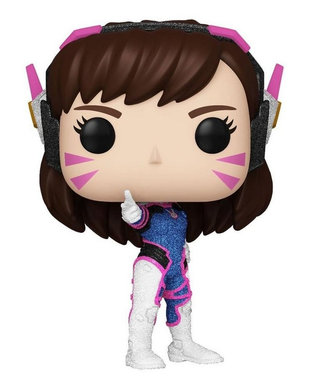 Overwatch: D.Va (Diamond Glitter) - Pop! Vinyl Figure