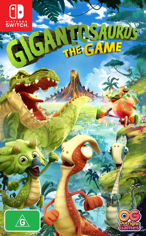 Gigantosaurus: The Game for Switch
