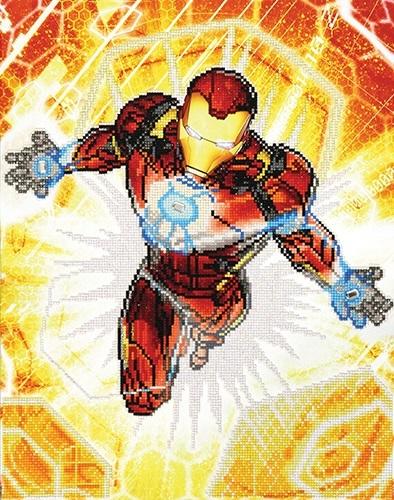 Diamond Dotz: Facet Art Kit - Iron Man: Blast Off!