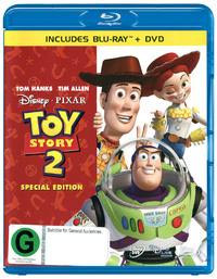 Toy Story 2 - Special Edition (2 Disc Set) on DVD, Blu-ray