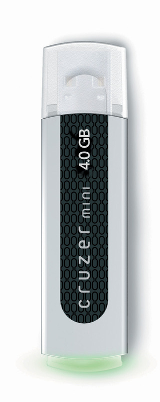 SanDisk Cruzer Mini USB Flash Drive 4096MB (4GB)