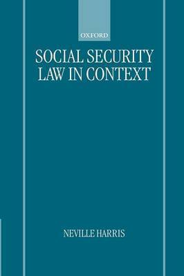 Social Security Law in Context