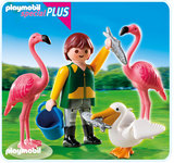 Playmobil - Zookeeper with Exotic Birds (4758)