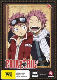 Fairy Tail - Collection 7 on DVD
